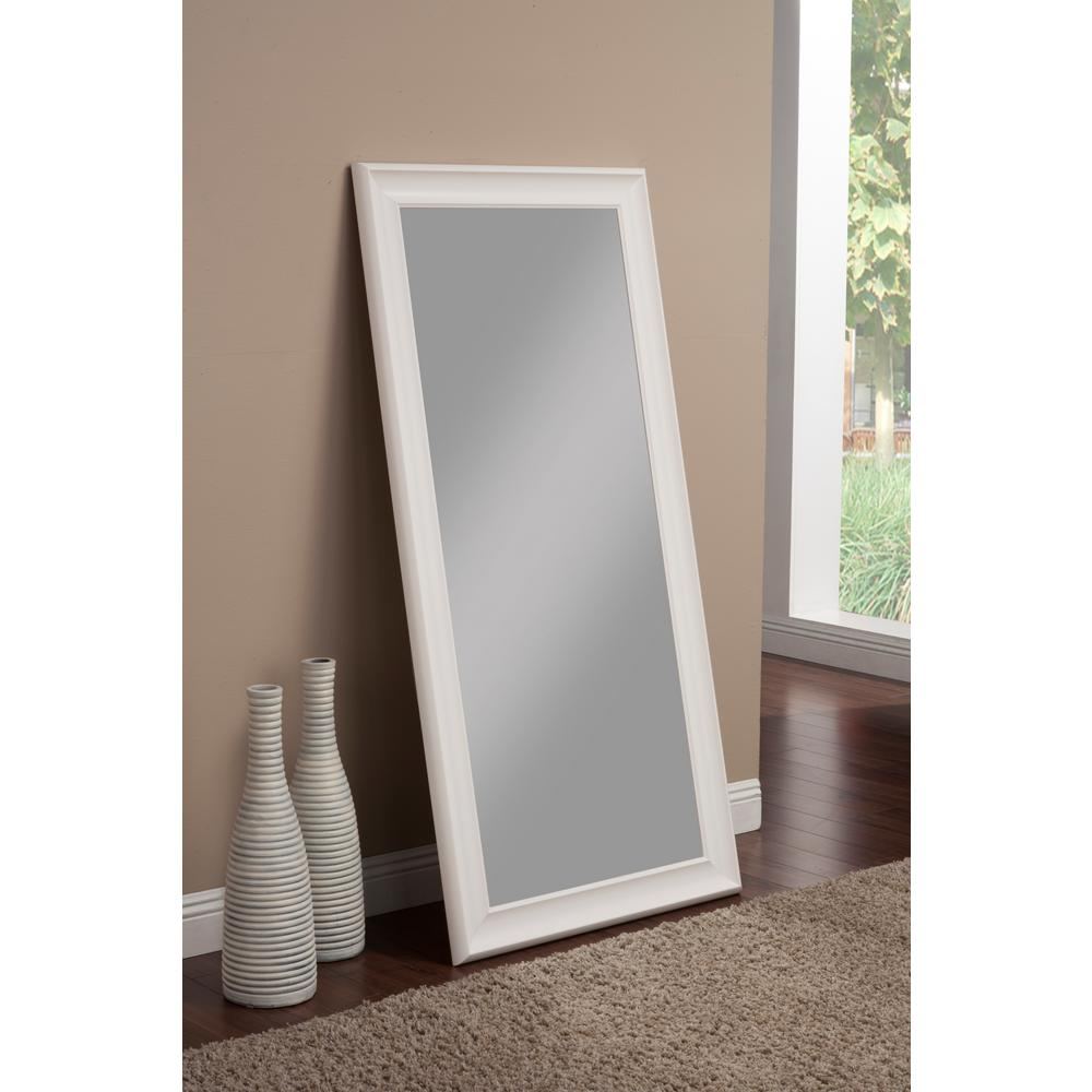 White Floor Mirror Amazon.com: White Finish Wooden Cheval Bedroom ...