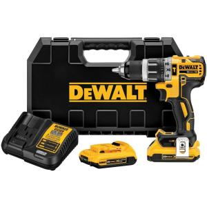 Dewalt 20-Volt MAX XR Lithium-Ion Cordless 1/2 inch Brushless Compact Hammer Drill with... by DEWALT