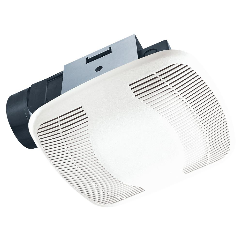 2 Bulb 80 Cfm Ceiling Bathroom Exhaust Fan With Light And: NuTone InVent Series 80 CFM Ceiling Exhaust Bath Fan With