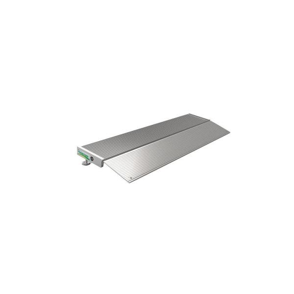 TRANSITIONS Aluminum Threshold Ramp with Adjustable Height 12 in. L x 36 in. W