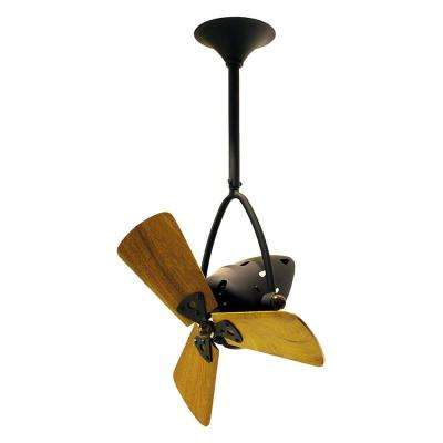 Jarold Direcional 16 in. Indoor Bronze Ceiling Fan with Wall Control