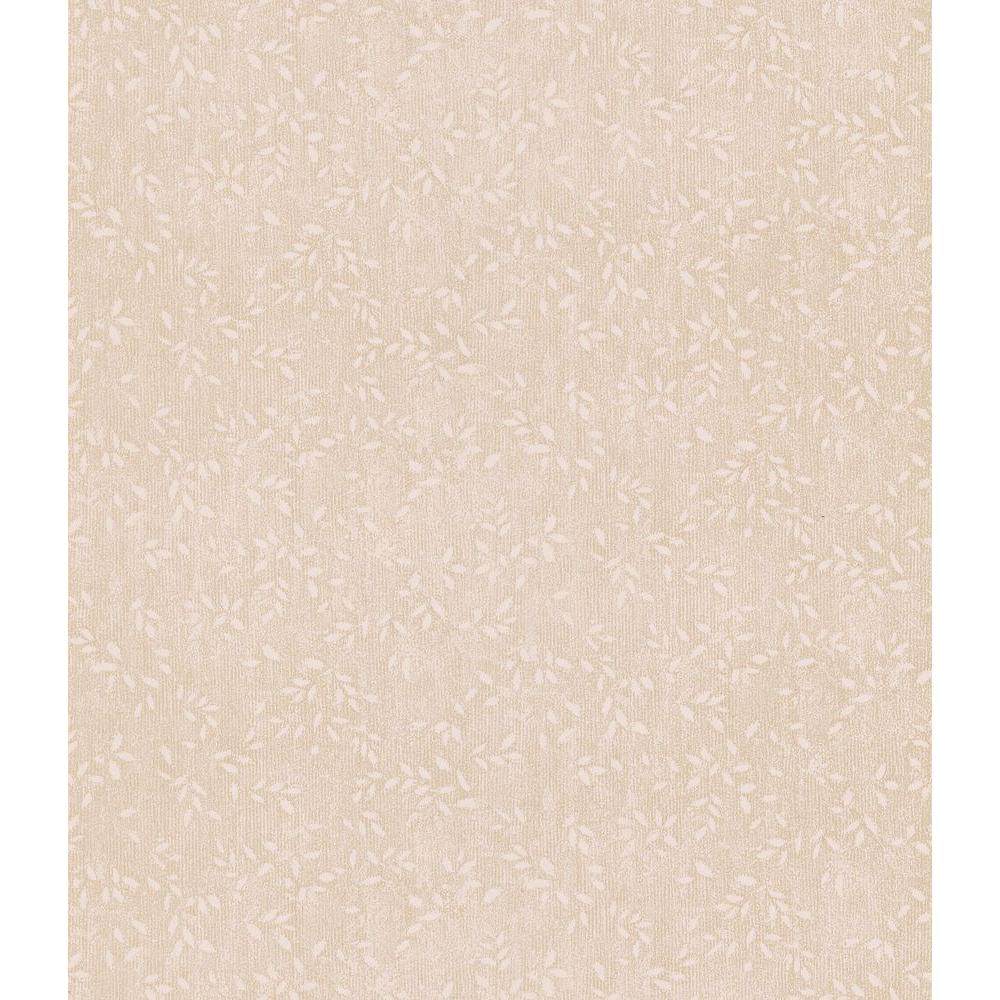 Brewster 8 in. W x 10 in. H Leaf Texture Wallpaper Sample