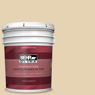 5 gal. #S310-2 Journal White Matte Interior Paint and Primer in One