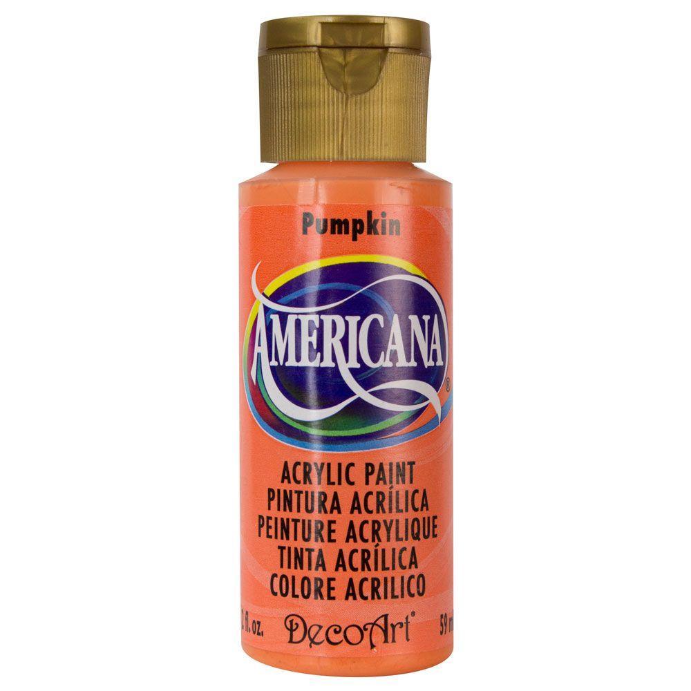 Americana 2 oz. Pumpkin Acrylic Paint