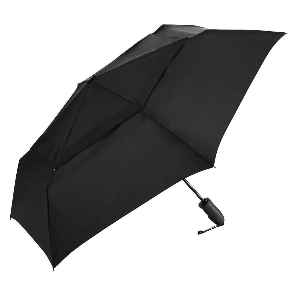 de2ffc9b9ef4 ShedRain Windjammer Vented Auto Open/Close Compact Umbrella