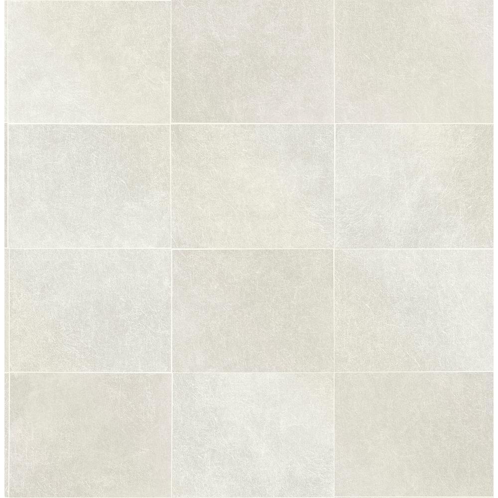 Cecelia Champagne Geometric Wallpaper Sample