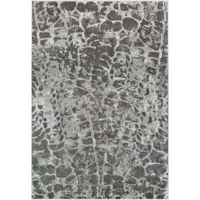 Sagara Light Gray 8 Ft X 10 Area Rug