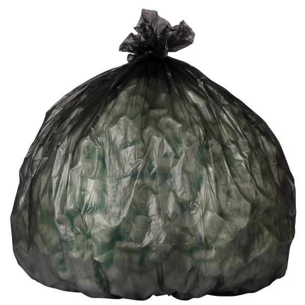 12-16 Gal. Black High-Density Trash Bags (Case of 1000)