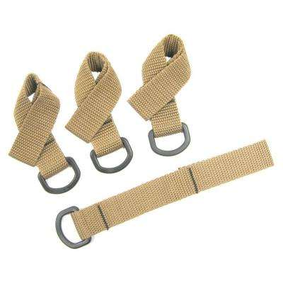 7 in. x 1 in. Tie-Down Extender (4 per Pack)