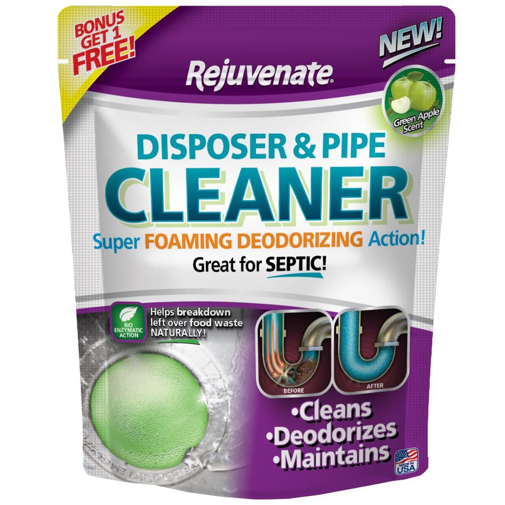 Green Apple Scent Disposer and Pipe Cleaner (6-Pack)