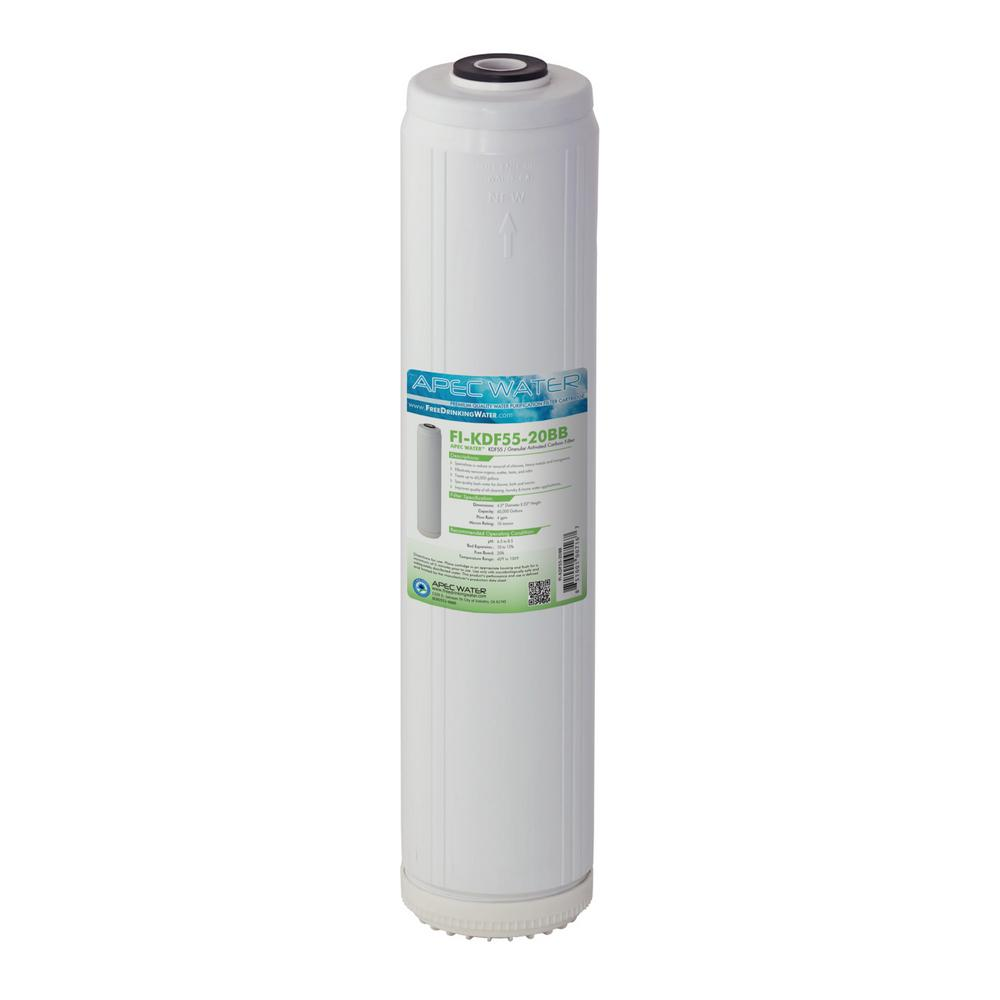 20 in. Whole House Replacement Water Filter Chlorine, Heavy Metal and