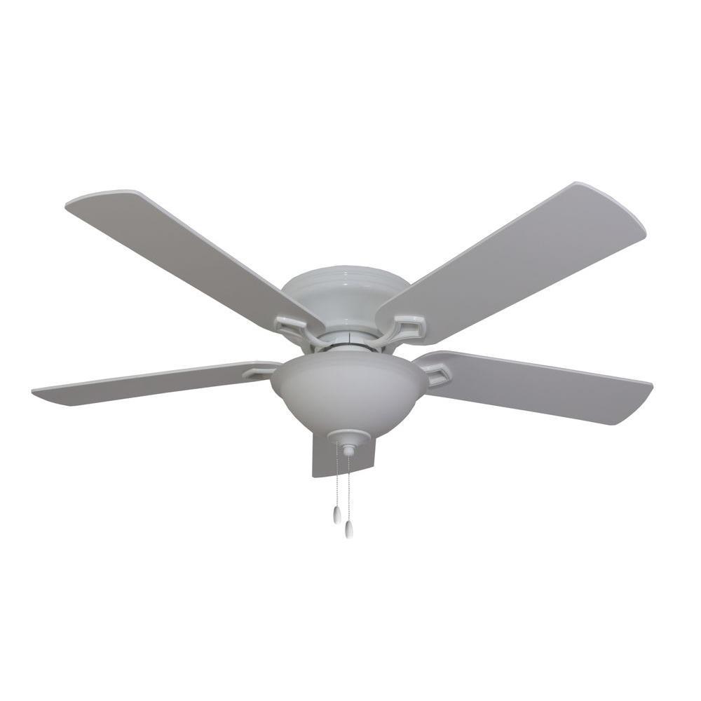 Bennington 52 in. Indoor White Ceiling Fan