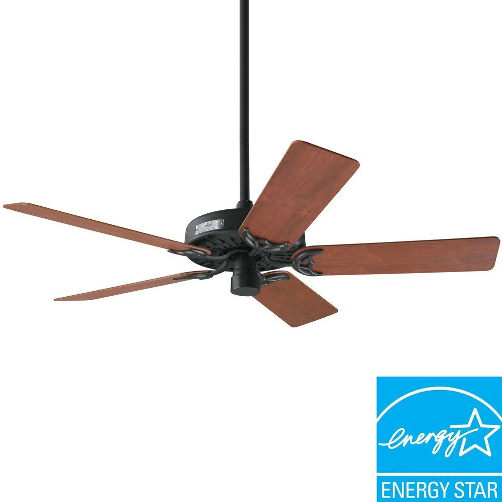 Hunter Classic Original 52 in. Antique Black Ceiling Fan
