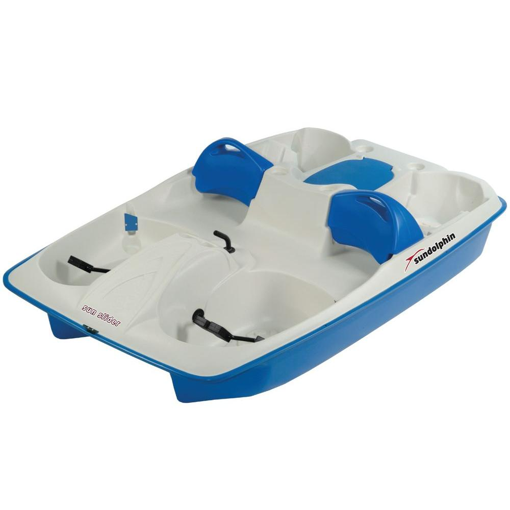 Sun Dolphin Sun Slider 5 Person Pedal Boat 61141 The