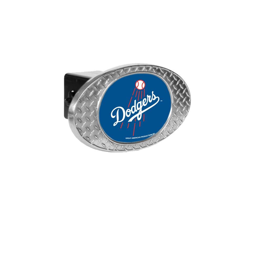 MLB Dodgers Oval Skid Hitch