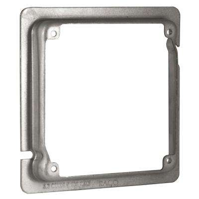 4-11/16 in. x 4 in. Square Adapter Ring, 5/8 in. Raised (25-Pack)