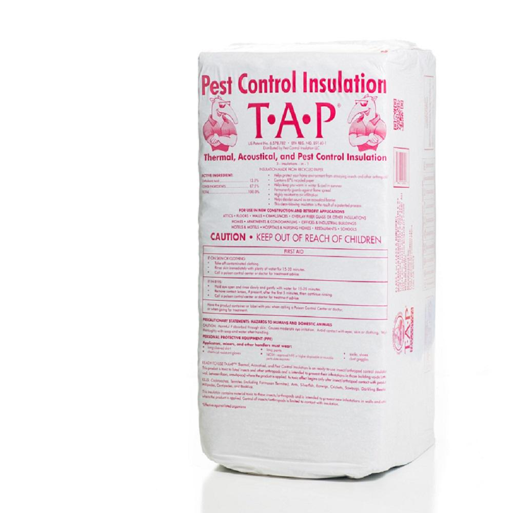 TAP Pest Control Insulation TAP EPA Registered Pest Control Blown-In Insulation 30 lbs. (36-Bags)