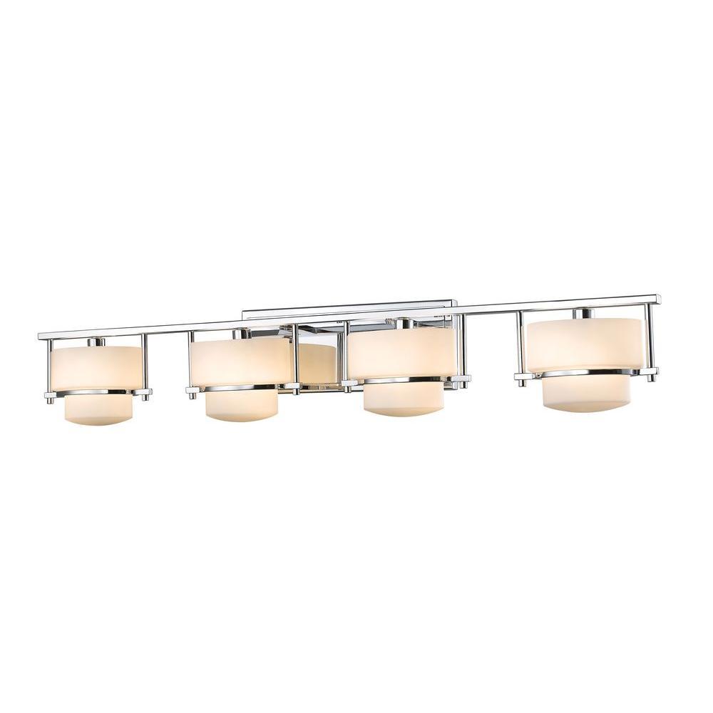 Christen 4-Light Chrome Bath Vanity Light