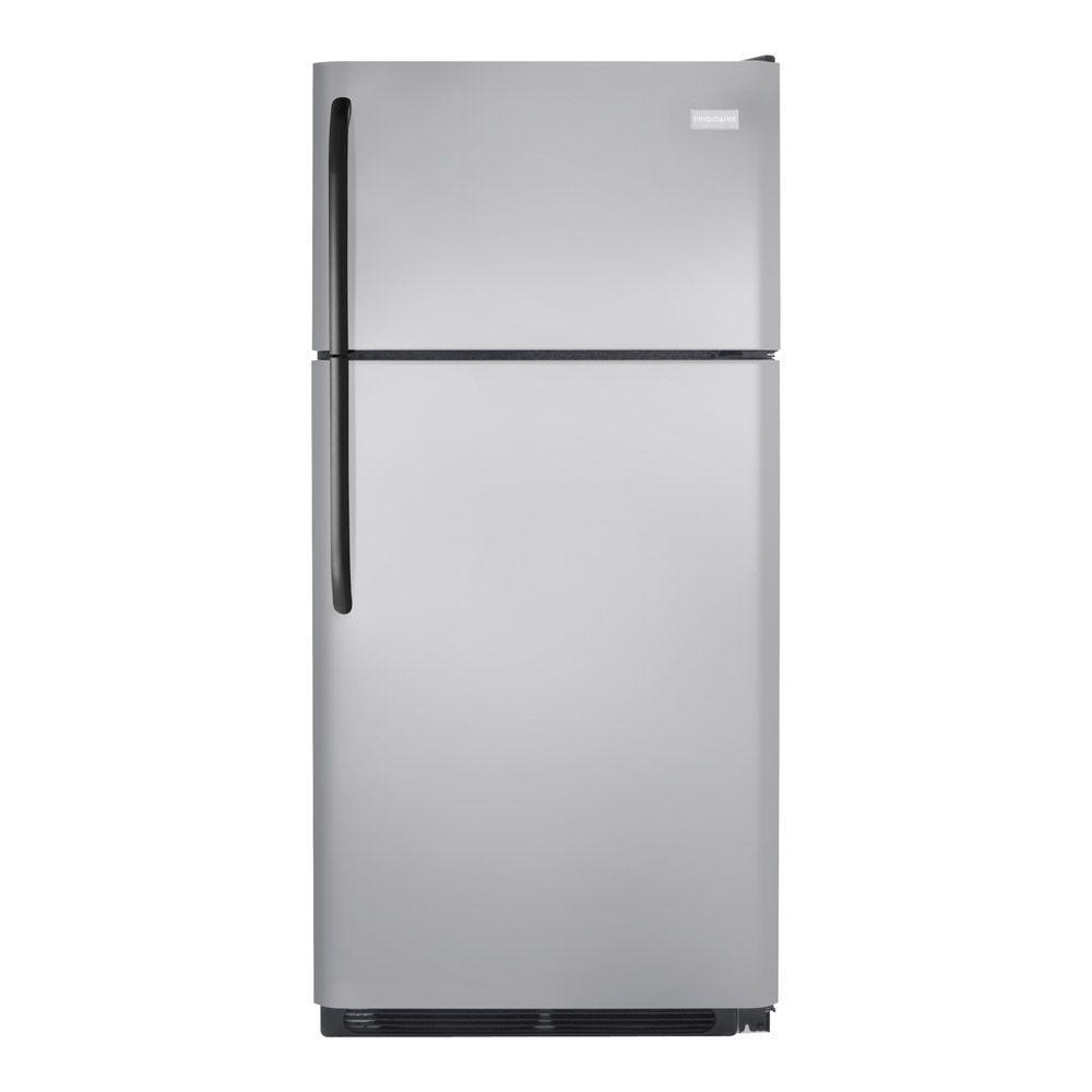 Frigidaire 18.2 cu. ft. Top Freezer Refrigerator in Silver Mist-DISCONTINUED