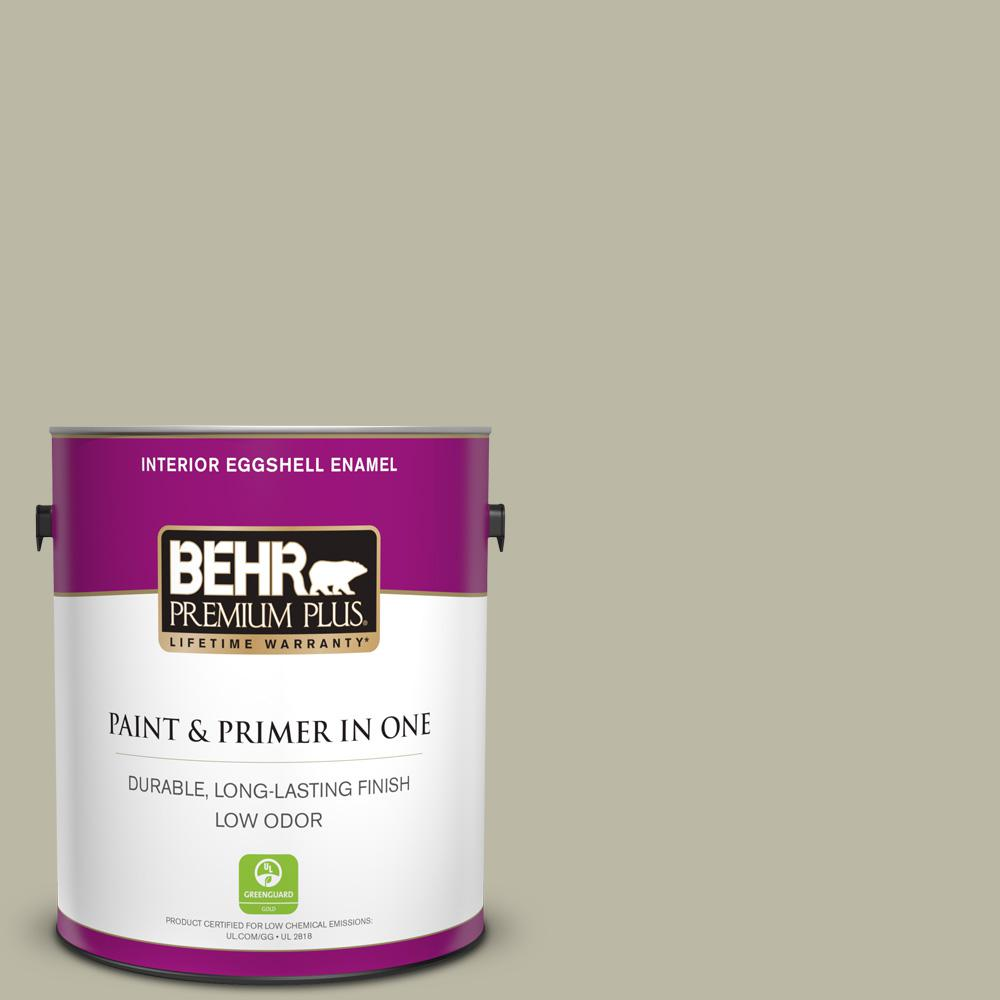 1 gal. #400F-4 Restful Eggshell Enamel Low Odor Interior Paint and