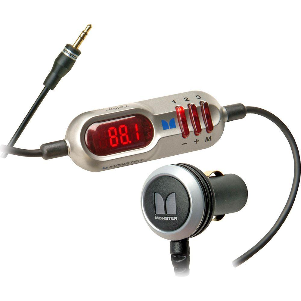 Monster Cable RadioPlay 300 Universal Full-Spectrum FM Transmitter-DISCONTINUED