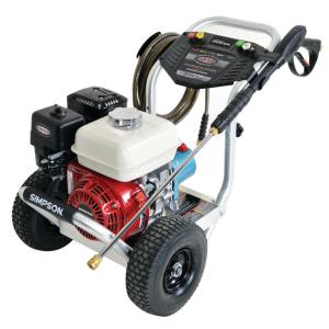 Simpson Aluminum Series 3200 PSI 2.8 GPM Gas Pressure Washer Powered by HONDA by Simpson