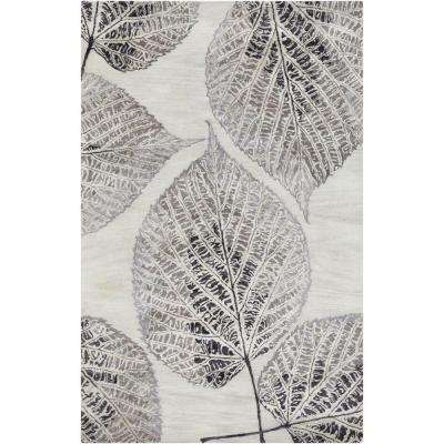 Androle Slate 3 ft. 3 in. x 5 ft. 3 in. Indoor Area Rug