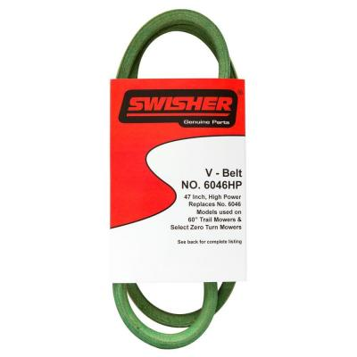 Replacement 47 in. Engine to Deck Belt for Pull Behind Trailmowers