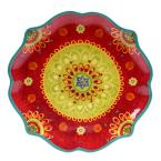 Certified International The Tunisian Sunset Collection Scalloped Platter