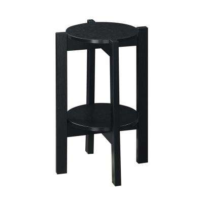 Newport Black Medium Plant Stand
