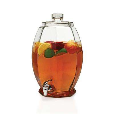 Cranston 3 Gal. Clear Glass Beverage Dispenser
