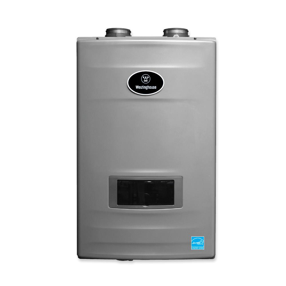 Westinghouse 11 gpm high efficiency natural gas tankless Instant water heater