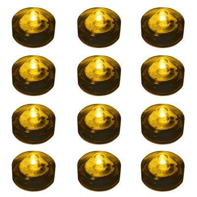Amber Submersible LED Lights (Box of 12)