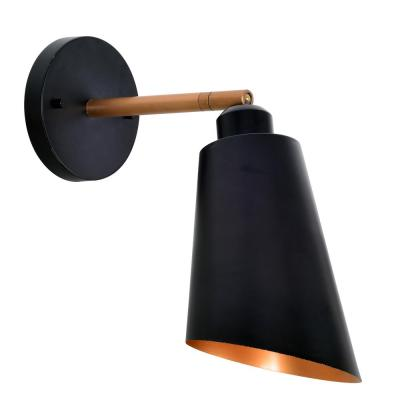 Alvar 1-Light Black Sconce