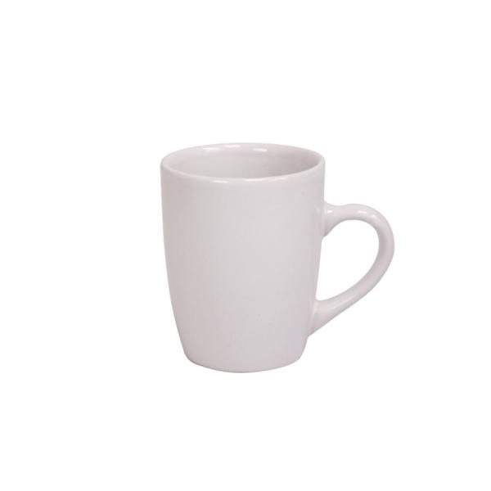 Home Basics 13 oz. White Ceramic Mug CD01933