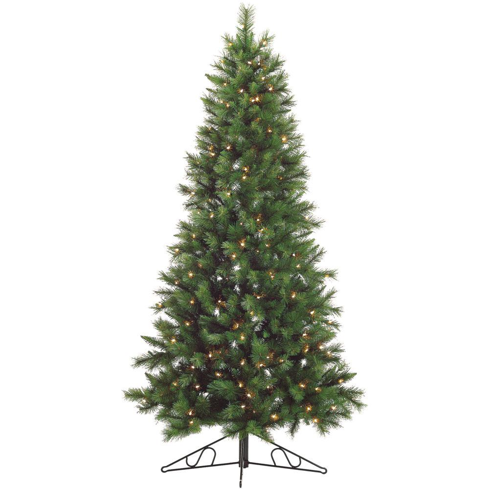 6 Ft Pre Lit Artificial Christmas Tree