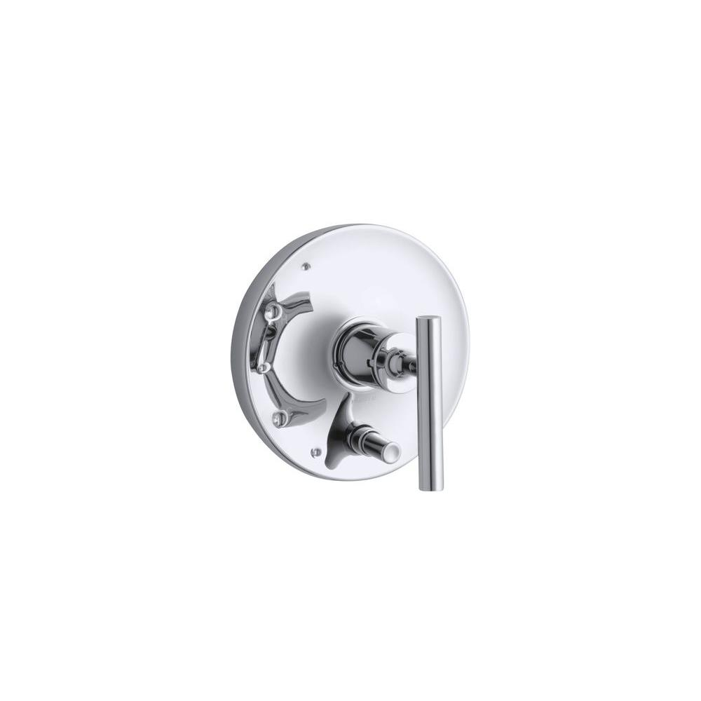 Purist 1-Handle Wall-Mount Valve Trim Kit in Polished Chrome (Valve Not