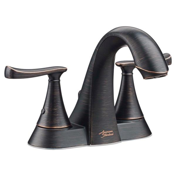 Chatfield 4 in. Centerset 2-Handle Bathroom Faucet in Legacy Bronze