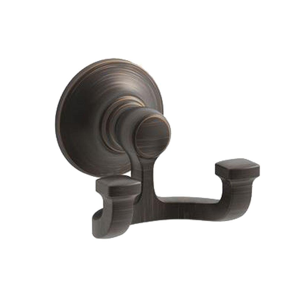 Bancroft Single Robe Hook in Oil-Rubbed Bronze
