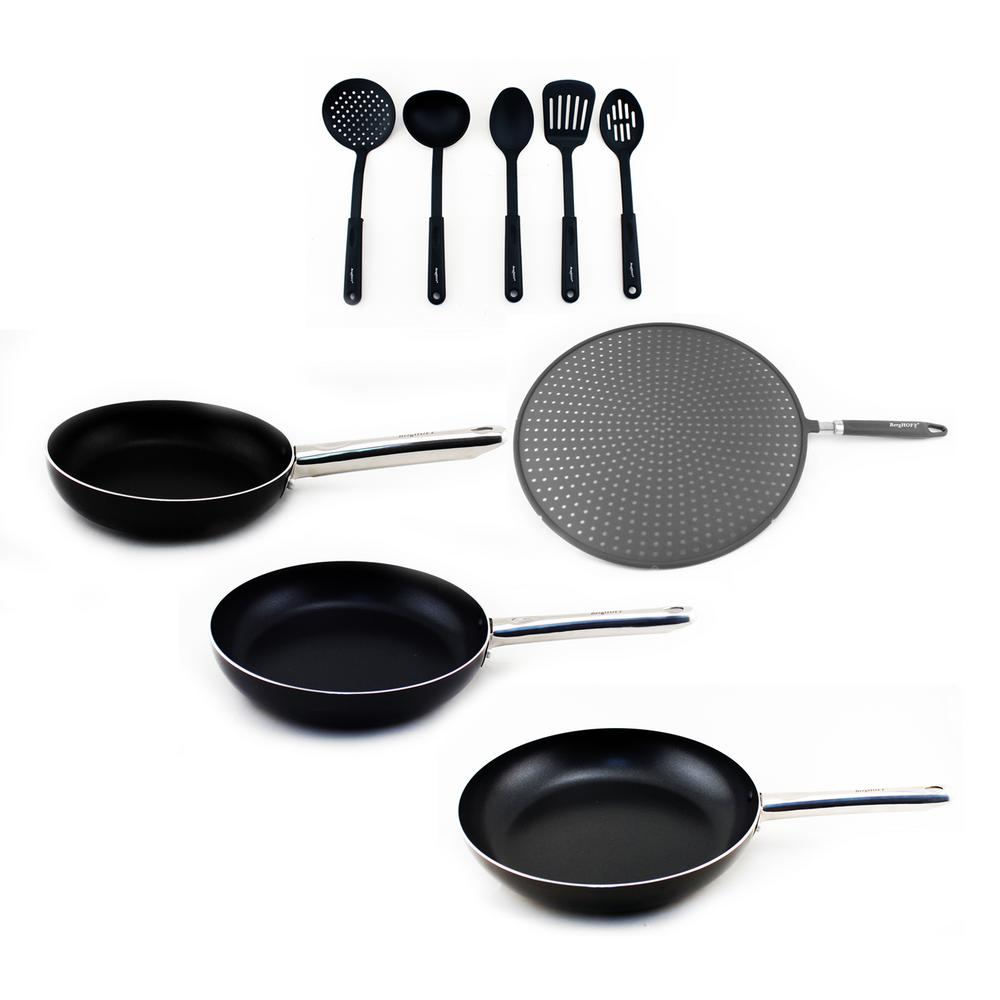 Boreal 9-Piece Non-Stick Cookware Set with Utensils