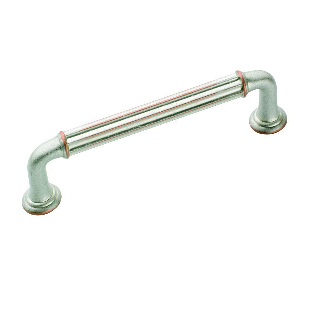 Eydon 3-3/4 in. Weathered Nickel Copper Pull
