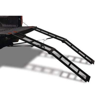 79 in. 1500 lbs. Capacity Steel Folding Arch Ramps Pair