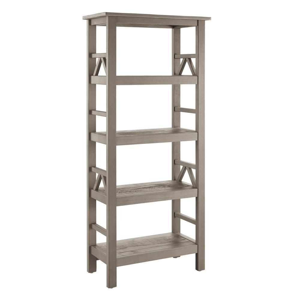Titian Driftwood Open Bookcase