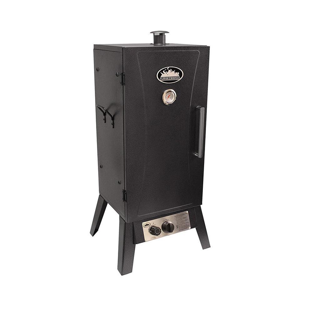 Gas Smoker Cooker