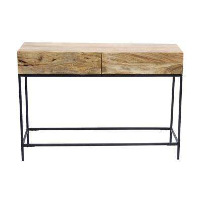 Modish Brown Console Table
