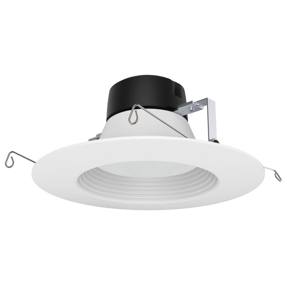 ProLED 6 in. White Integrated LED Recessed Ceiling Light Dimmalbe JA8/Title
