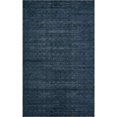 Uptown Collection by Jill Zarin Navy Blue 5' x 8' Rug