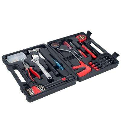 Multipurpose Car and Office Black Tool Kit (65-Piece)