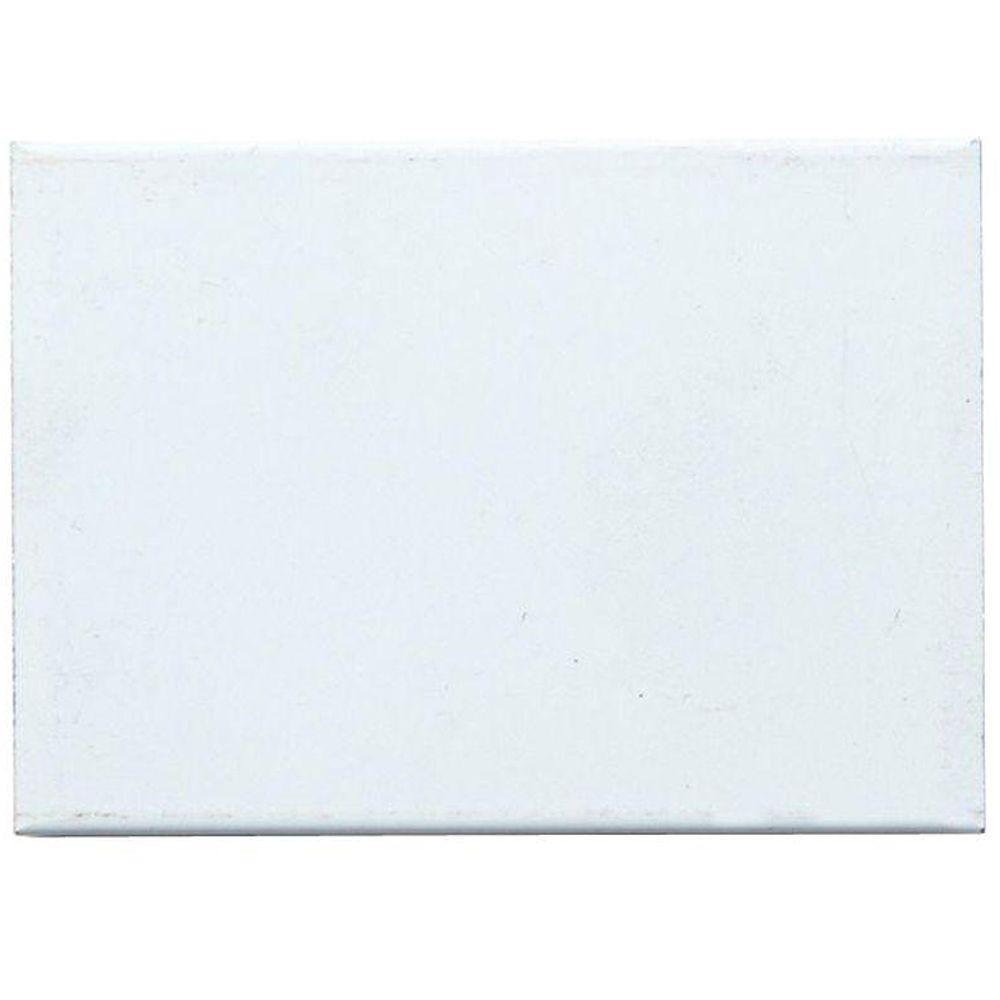 Storm Door Color Sample - White