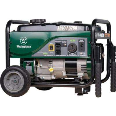 3250-Watt Gas Powered Portable Generator - RV Ready and CARB Compliant